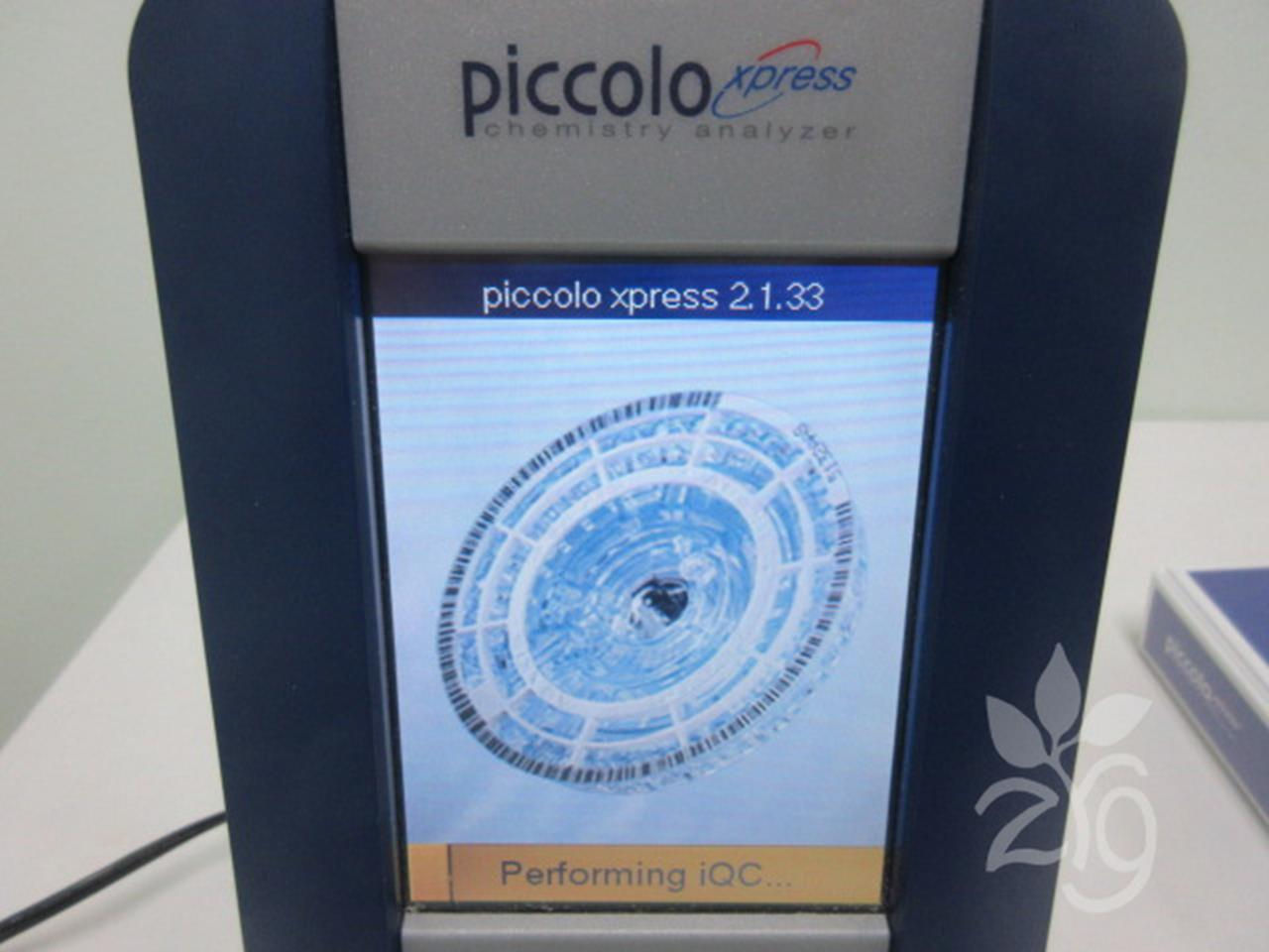 ABAXIS PICCOLO XPRESS CHEMISTRY ANALYZER ABAXIS PICCOLO
